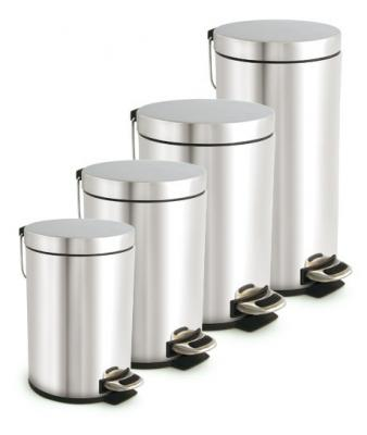 Stainless Steel Dust Bin With Pedal